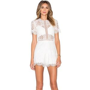 Alexis NWT Brias Lace Romper size XS